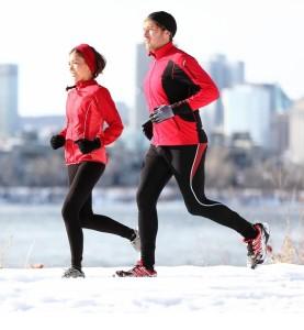 běžecké oblečení na zimu