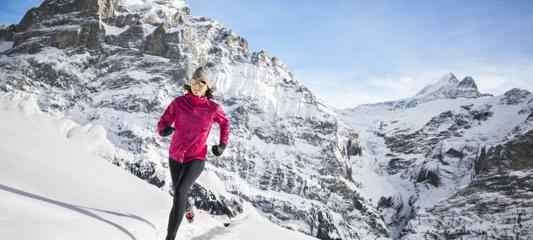 běžecké boty do sněhu