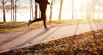 běhání ráno