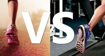 běžecký pás nebo silnice