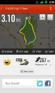 běžecké aplikace