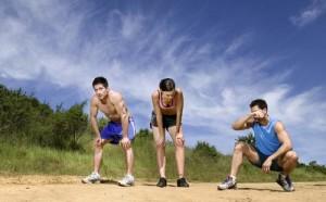 běhání v létě