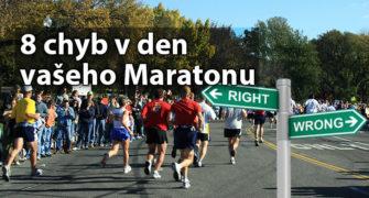 chyby maratonu