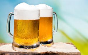 pivo a běhání