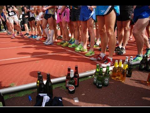 běhání a alkohol