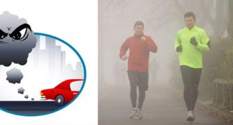 smog a běhání