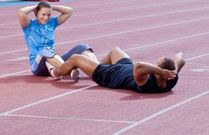 neběžecký trénink
