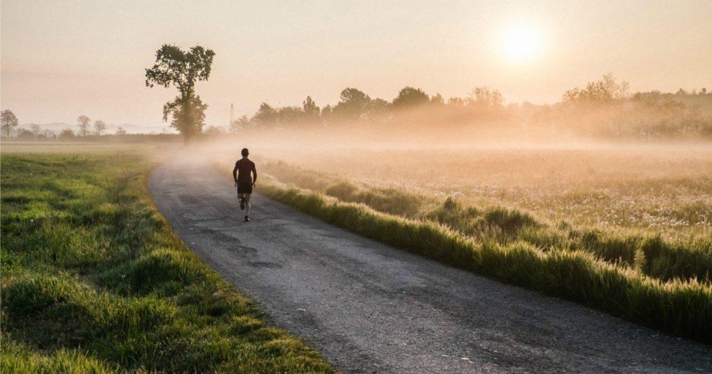 ranní běhání
