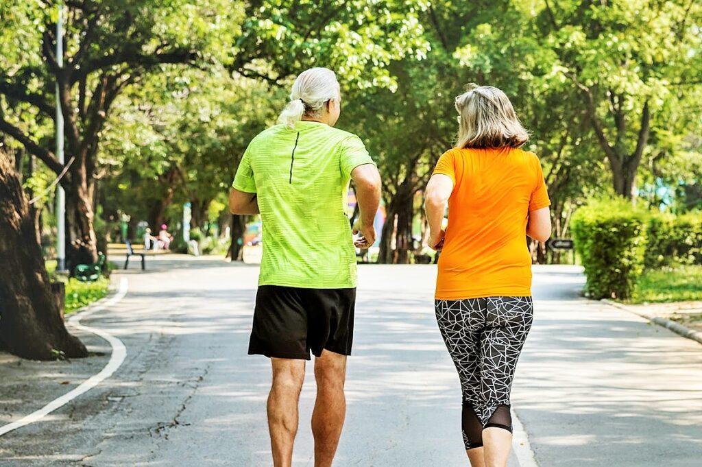 běhání v páru