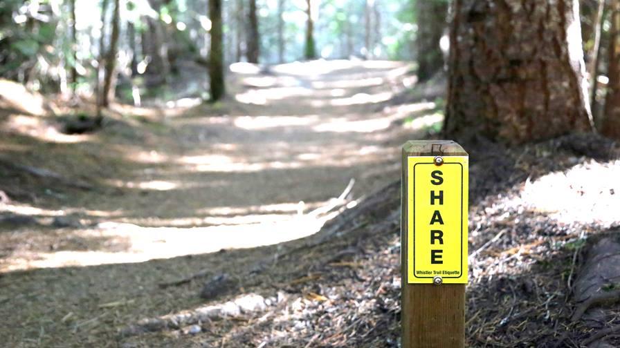 tagování trailových stezek