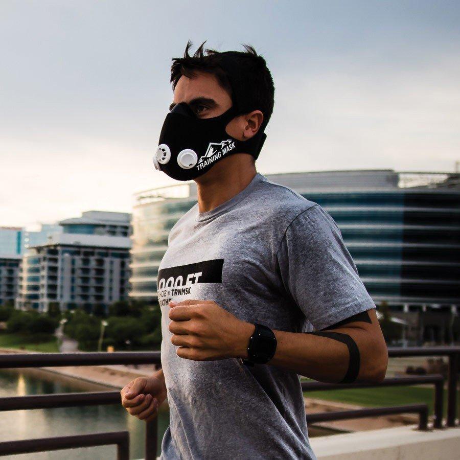 běžecká tréninková maska