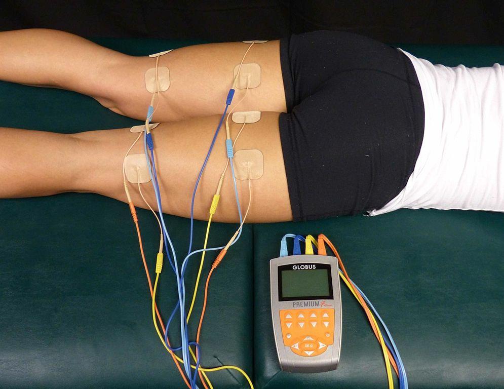 elektrická stimulace svalů